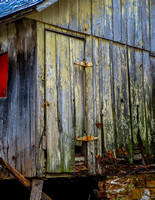 Old Rusty Shed Door